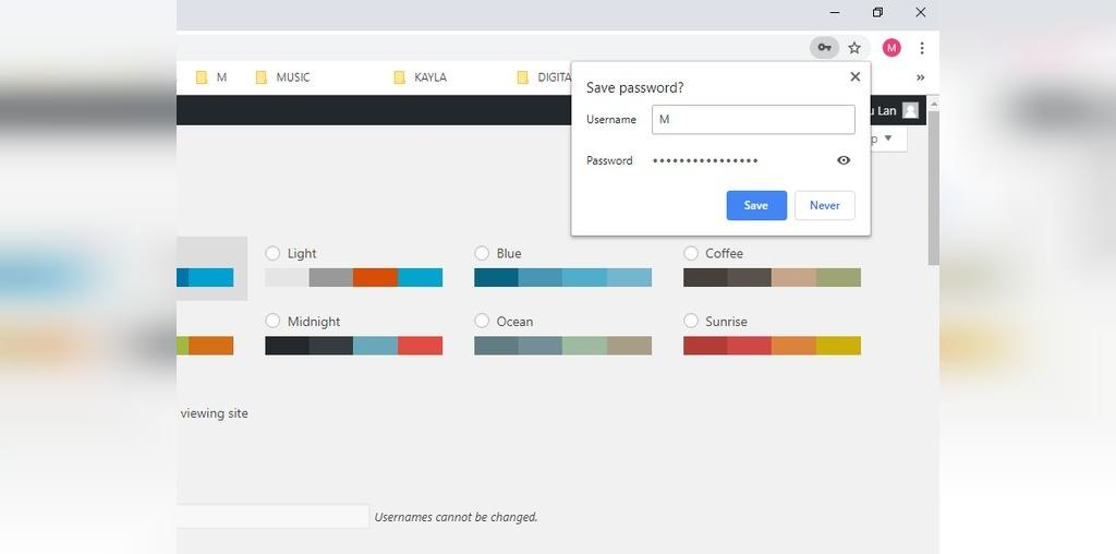 مدیریت رمز عبور گوگل کروم