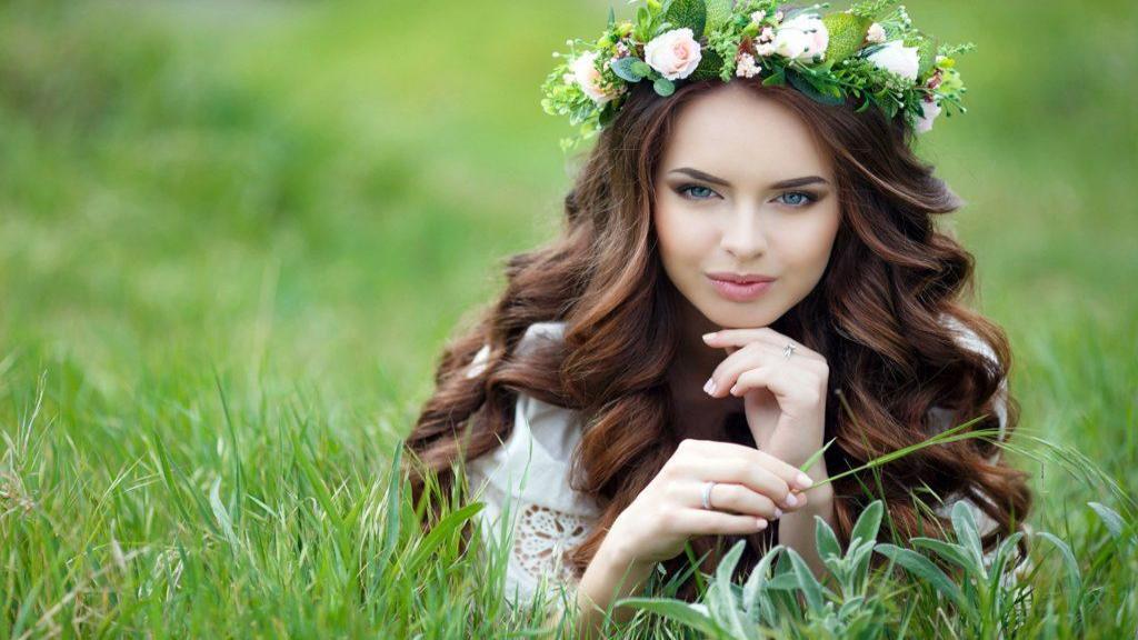 پروفایل بهاری دخترانه جدید و خاص + عکس دختر در فصل بهار