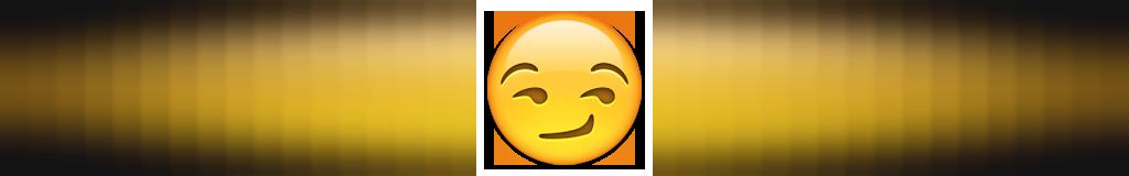 ایموجی صورتی که پوزخند می زند نماد چیست