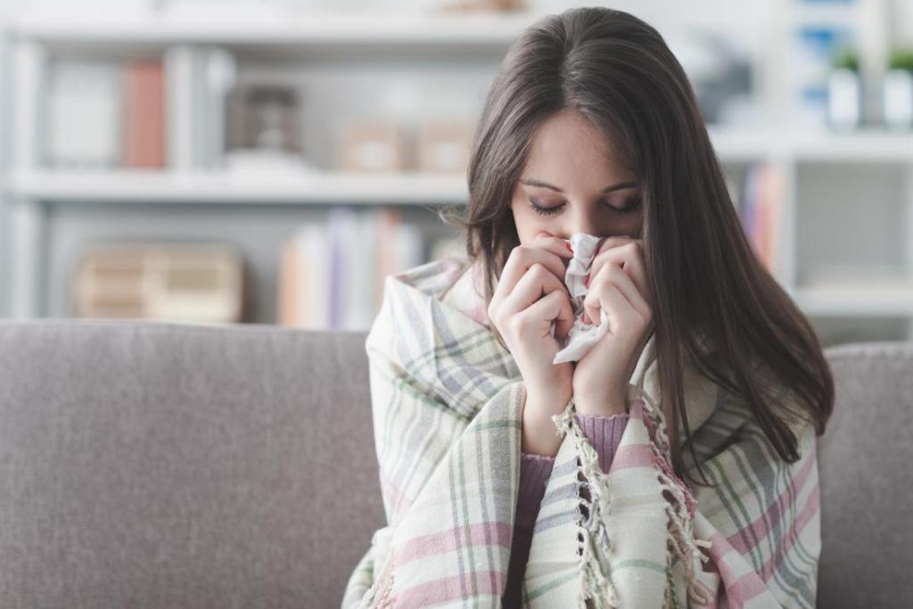 درمان سرماخوردگی و آنفولانزا