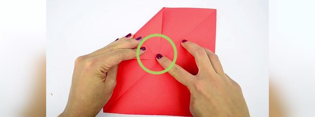 آموزش درست کردن قلب کاغذی برای ولنتاین
