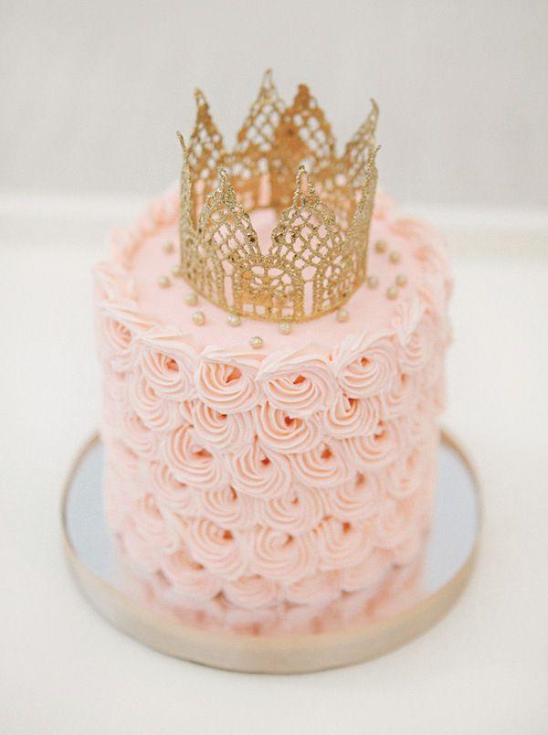 مدل کیک تاجی دخترانه