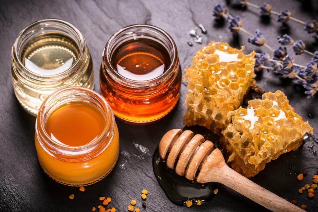 آیا عسل طبیعی شکرک می زند