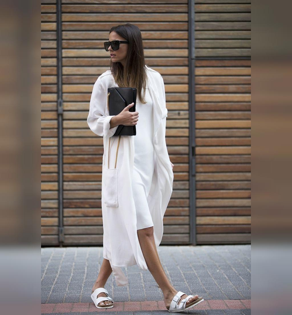 مدل مانتو تابستانی بلند جلو باز دخترانه