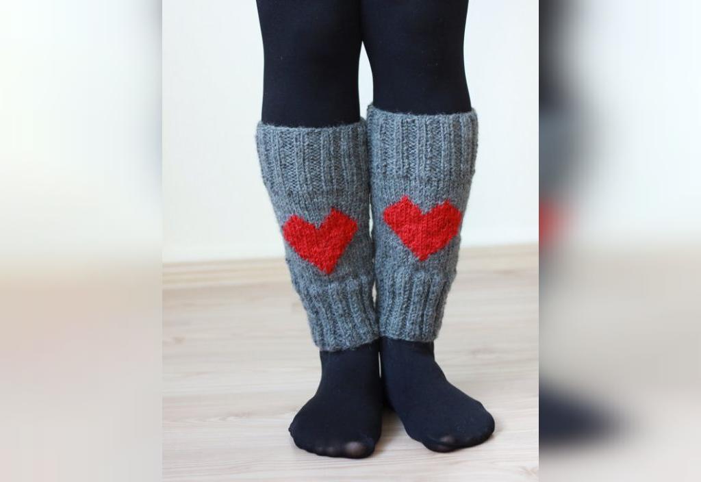آموزش ساق پا قلاب بافی