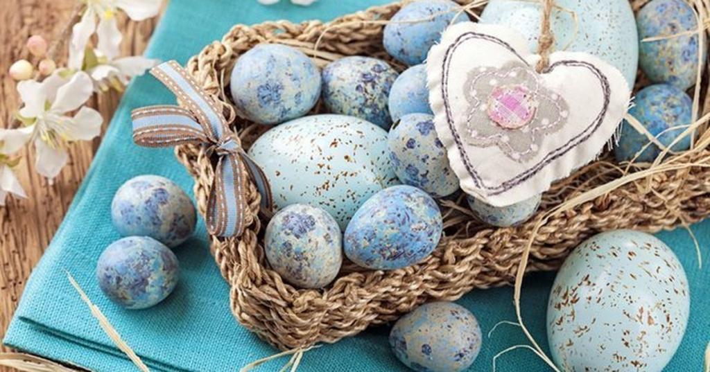 تزیین تخم مرغ برای عید