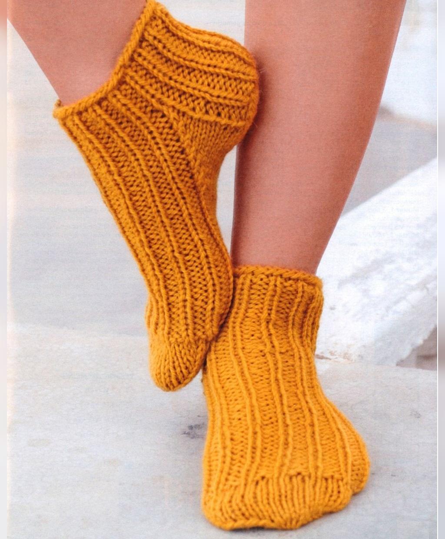 مدل جوراب بافتنی ساق کوتاه