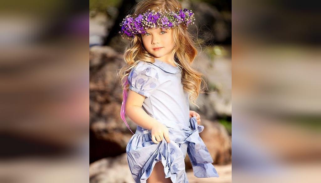ژست عکس کودک دختربچه