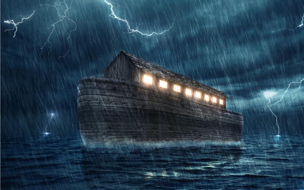 داستان حضرت نوح و کشتی به زبان کودکانه