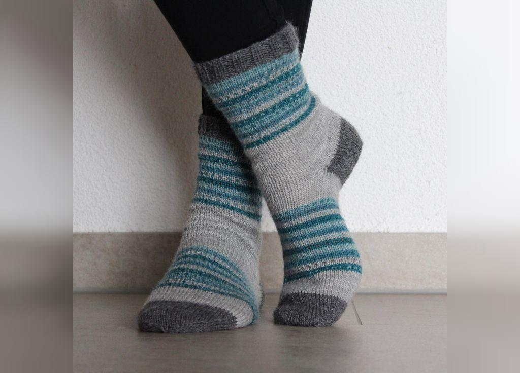 آموزش جوراب بافتنی با قلاب