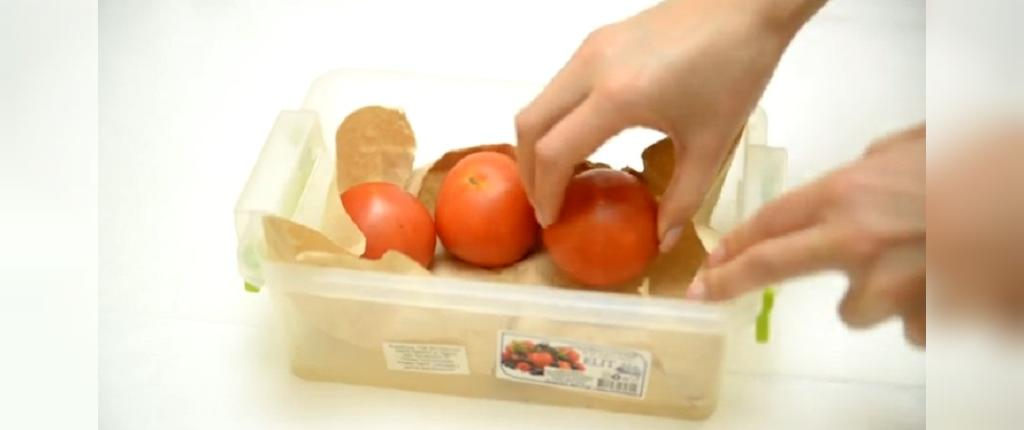 راهکارهای ساده برای نگهداری دزار مدت گوجه فرنگی