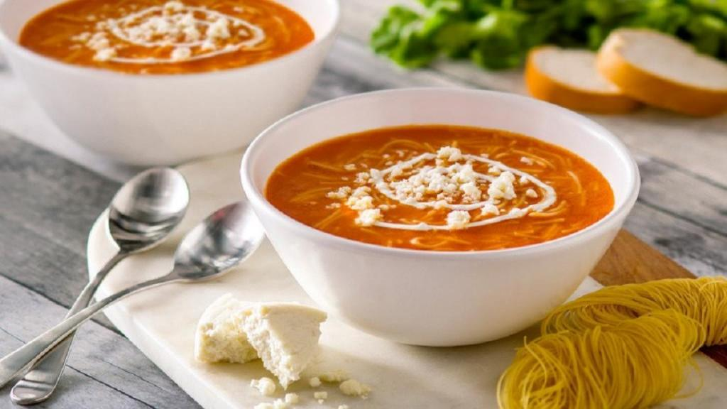 طرز تهیه سوپ ورمیشل رشته فرنگی خوشمزه و جا افتاده بدون مرغ