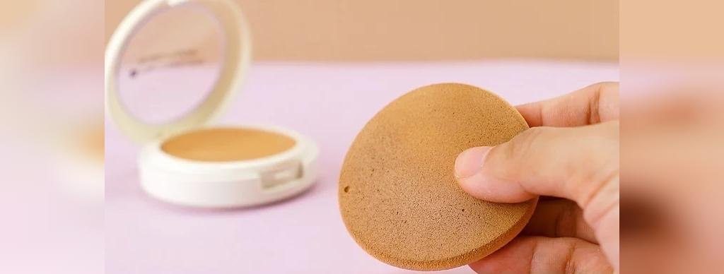 اسفنج های آرایشی معمولی را بعد از یک بار استفاده دور بیاندازید