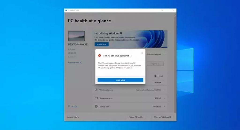 رفع مشکل نصب نشدن ویندوز 11
