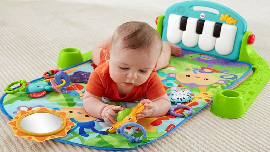 نحوه انتخاب بهترین اسباب بازی ها برای نوزادان زیر یک سال