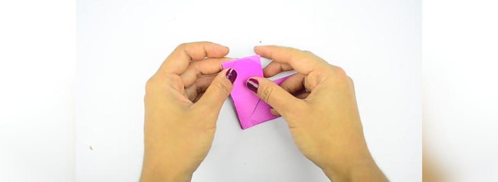 طریقه درست کردن قلب با کاغذ