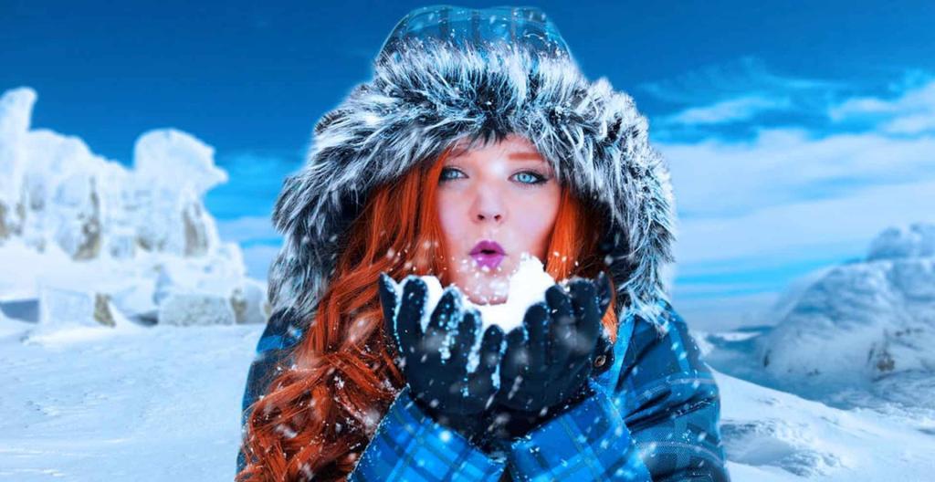 عکس پروفایل دخترونه برفی