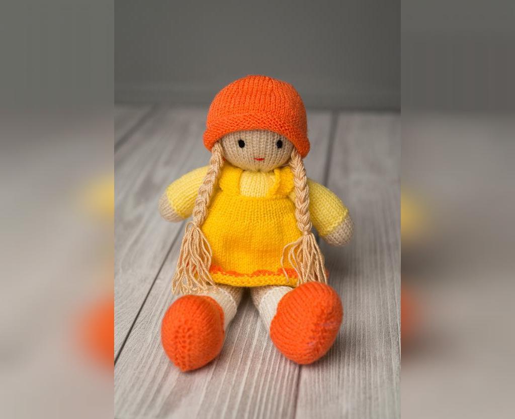 ژورنال عروسک بافتنی با قلاب
