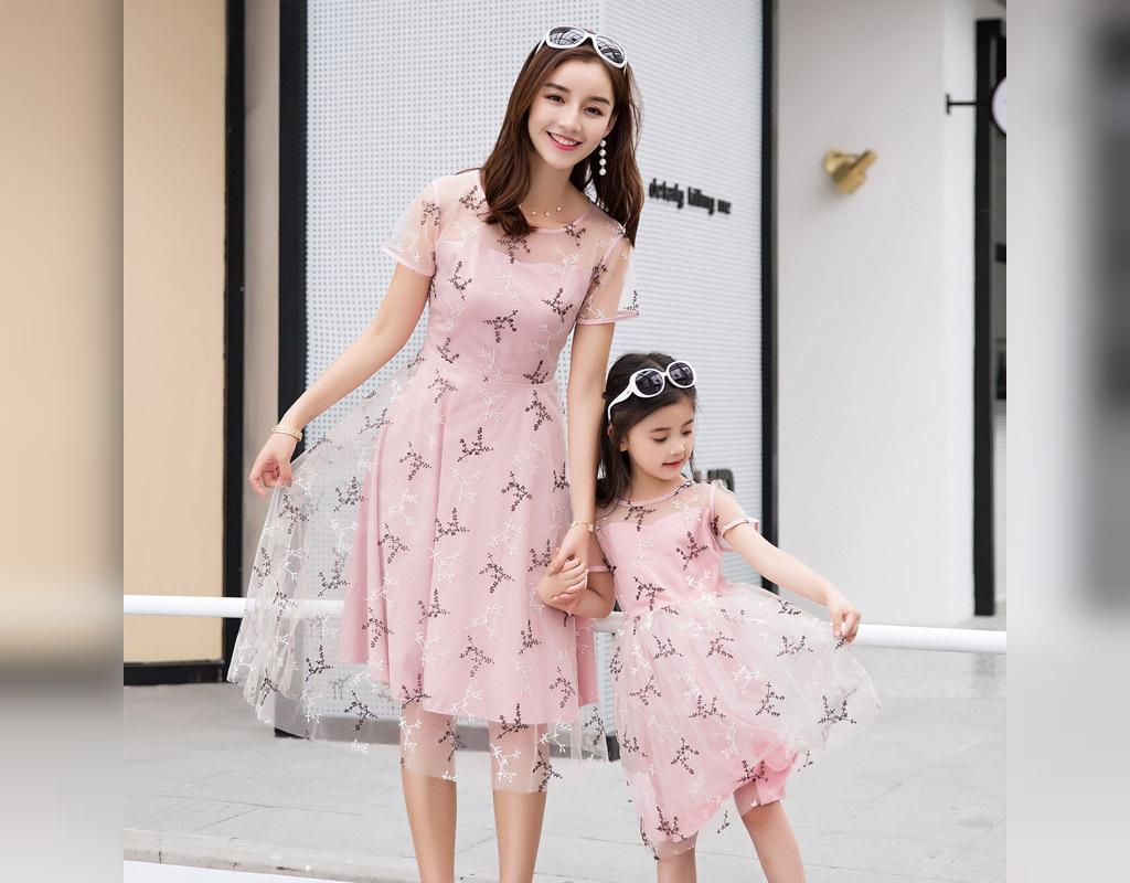 ست لباس مادر و دختر کوتاه و شیک