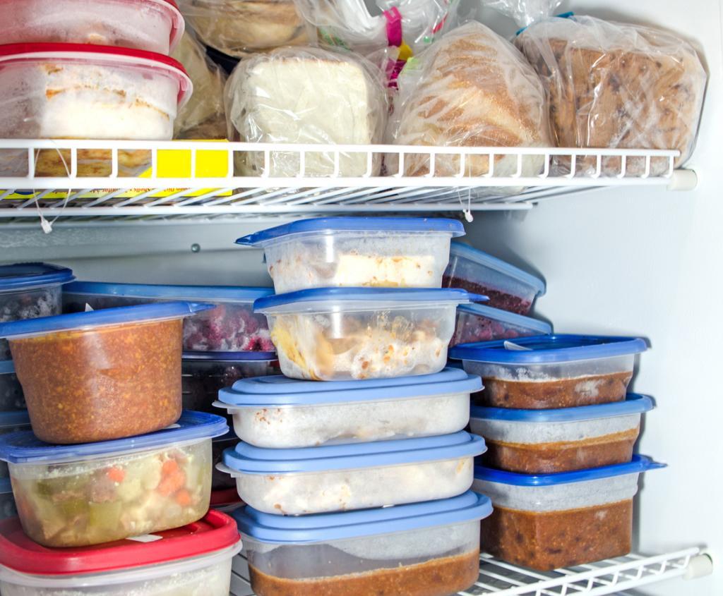 اشتباهات رایج استفاده از فریزر:فریز کردن طولانی مدت مواد غذایی