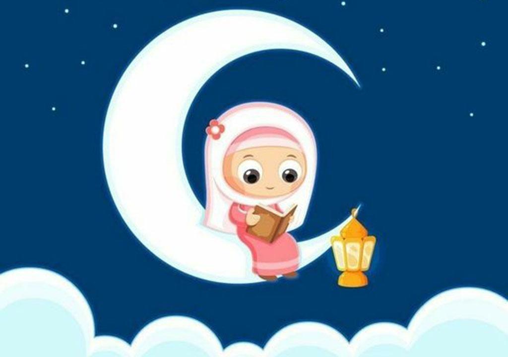 عکس ماه رمضان برای دختر بچه