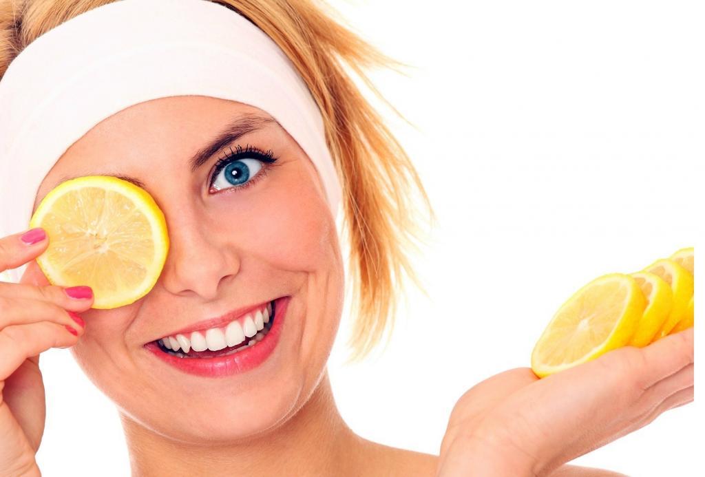 لیمو ترش برای پوست صورت خوبه