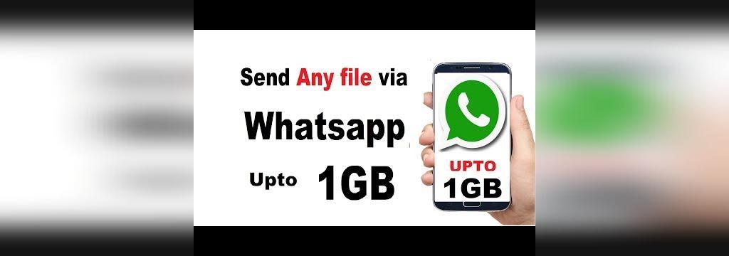 ارسال فایل با حجم بالا در واتس اپ