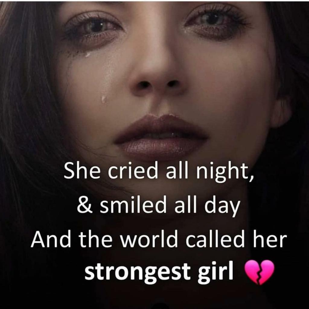 عکس نوشته دخترانه پروفایل غمگین انگلیسی