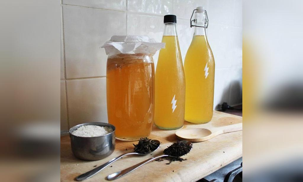 طرز تهیه چای کامبوجا خانگی