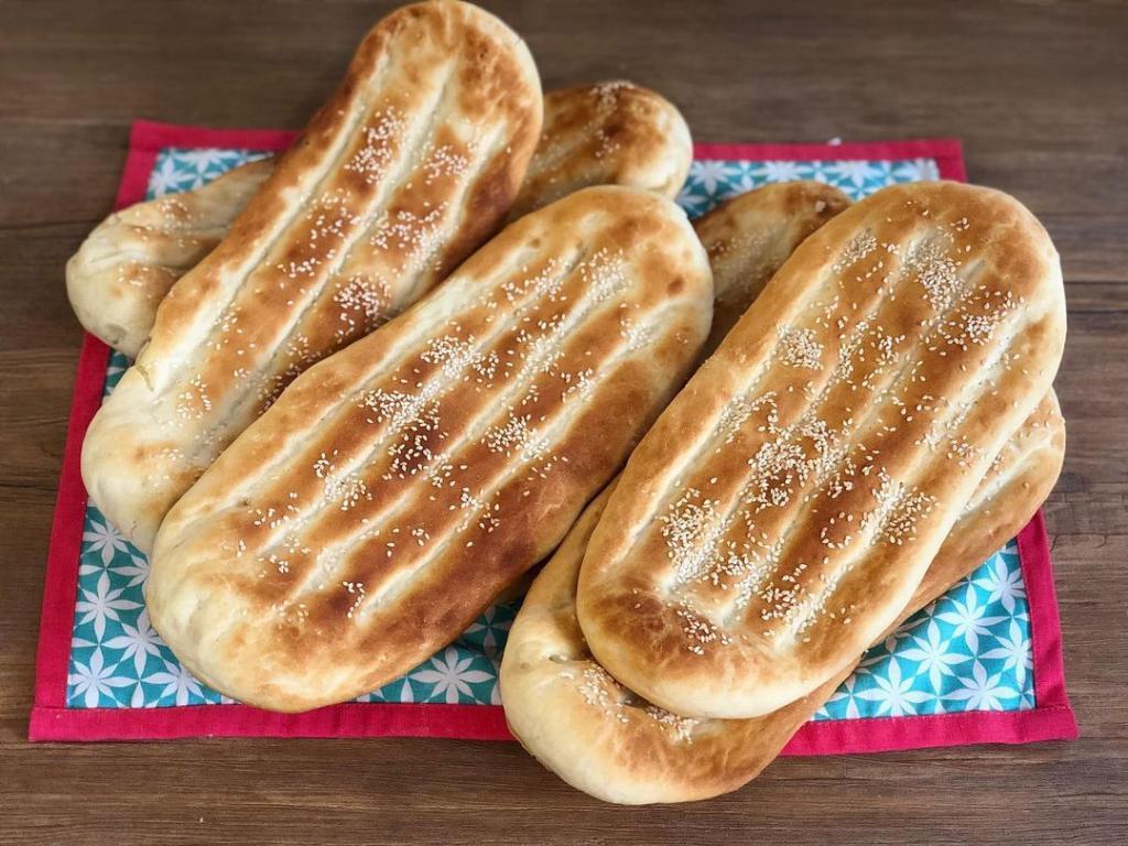 طرز تهیه نان بربری به روش نانوایی در خانه