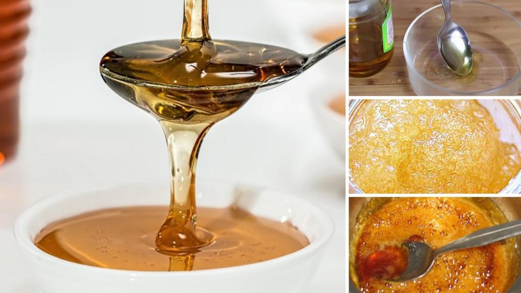 تشخیص عسل طبیعی از تقلبی از طریق زرده تخم مرغ