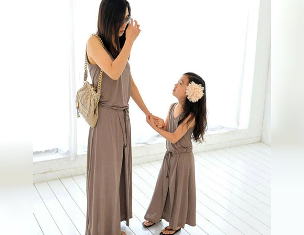 ست لباس مادر و دختر: ست سرهمی