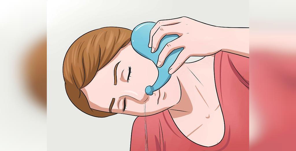 درمان آنفولانزا در خانه