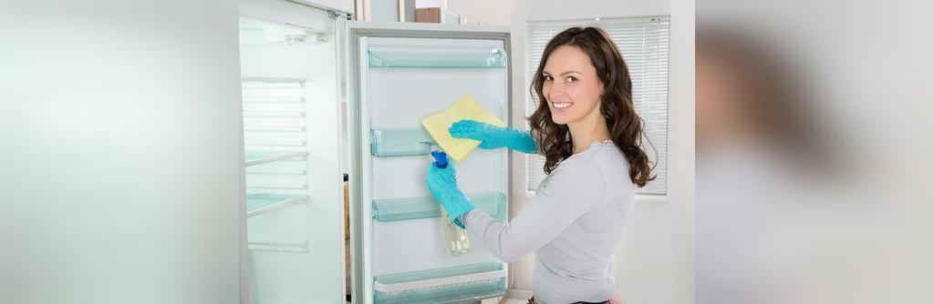 تمیز کردن یخچال با سرکه سیب