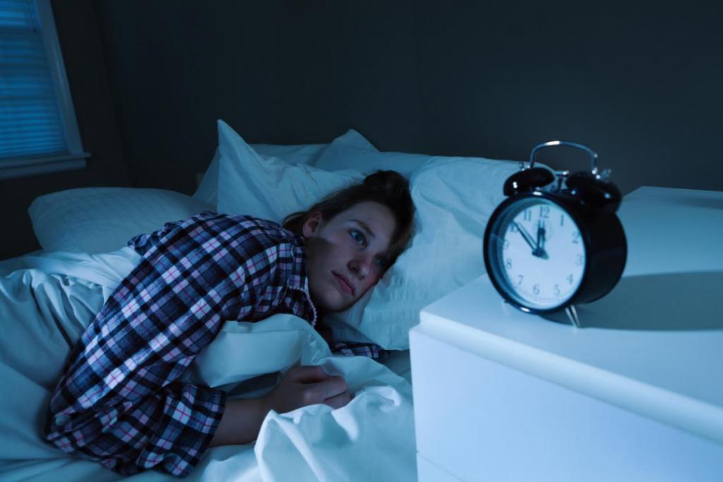 اختلالات خواب از علائم حمله قلبی در زنان
