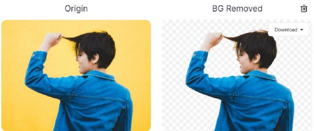 روش حذف بک گراند عکس آنلاین و رایگان