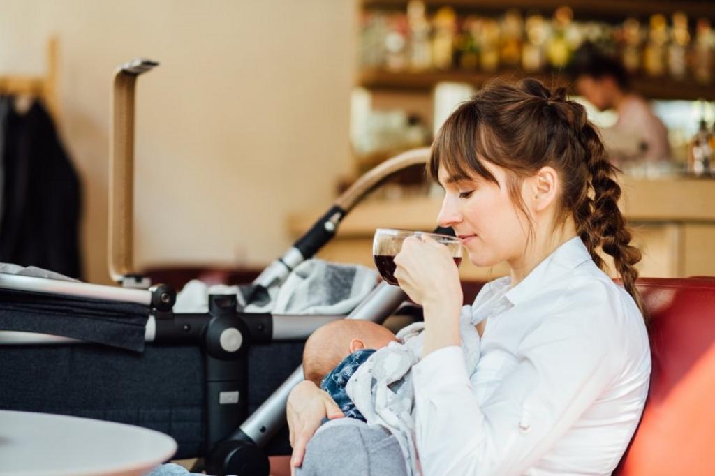 مصرف قهوه در دوران شیردهی