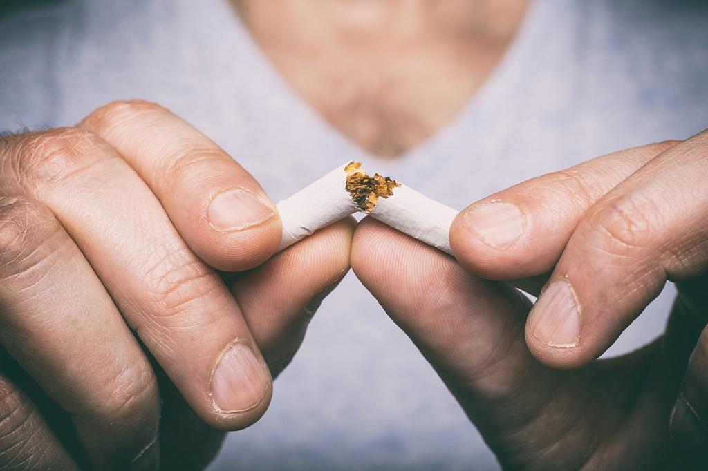 ترک سیگار برای سلامت قلب در مردان