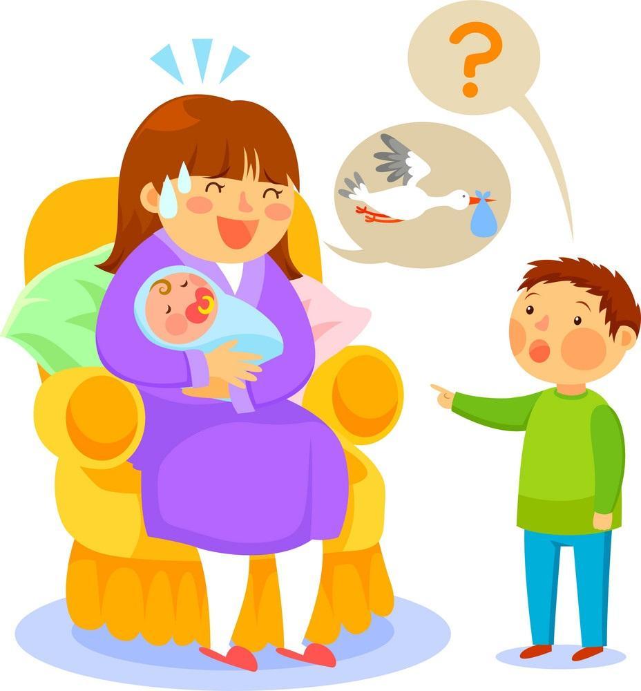 چگونه به کودکان بگوییم که بچه از کجا می آید