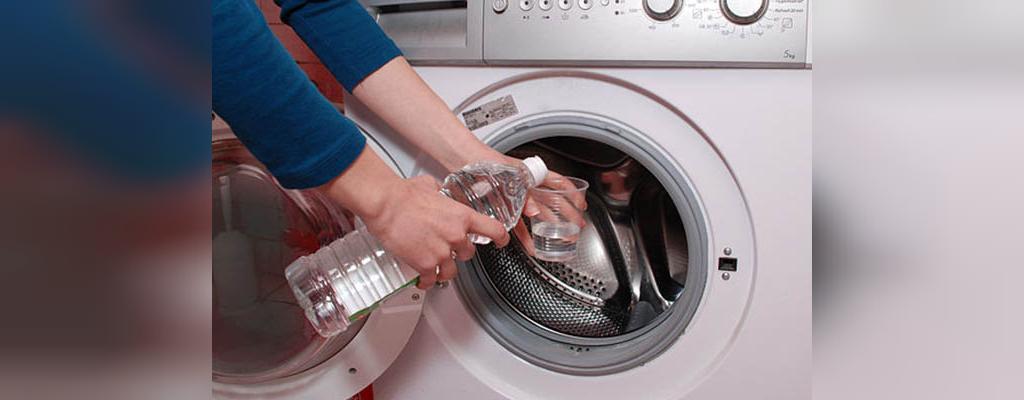 سرکه سیب برای تمیز کردن ماشین لباس شویی