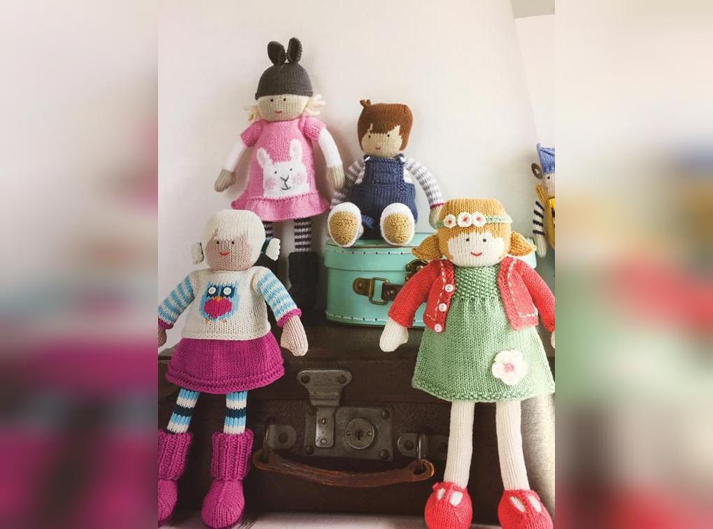 ژورنال عروسک بافتنی طرح بچه های مزرعه