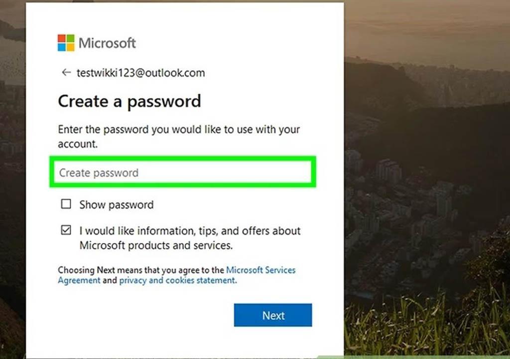 تحوه ثبت نام اکانت مایکروسافت