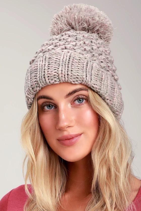 مدل کلاه بافتنی دخترانه شیک