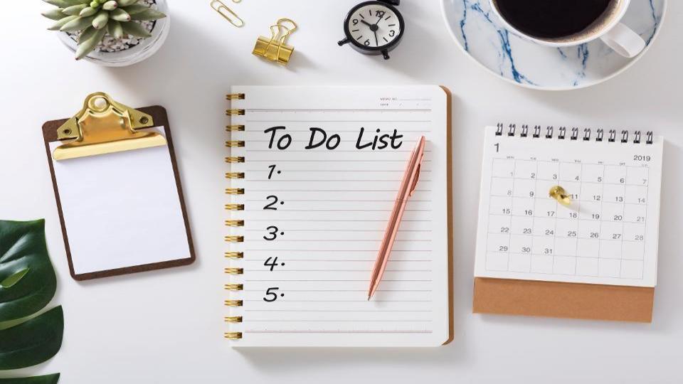 چک لیست بایدهای روزانه را فراموش کنید و لیست نبایدها را تهیه کنید