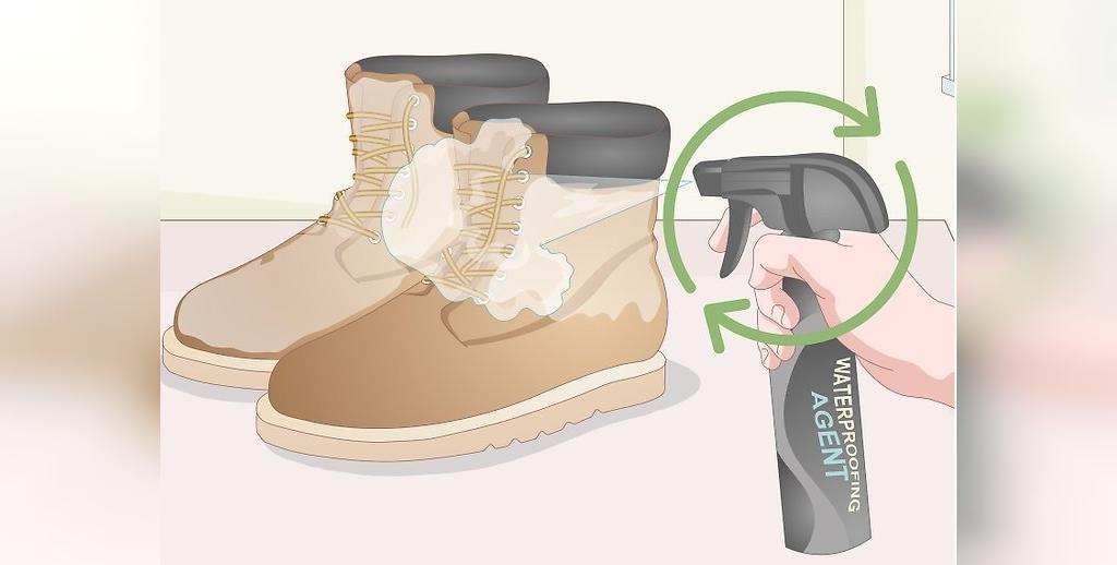 اسپری ضد آب برای کفش های نبوک