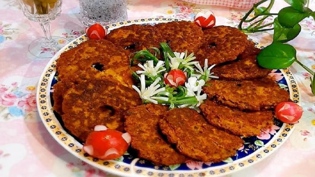 طرز تهیه شامی لپه [شامی پوک] خوشمزه و مجلسی رشتی با گوشت