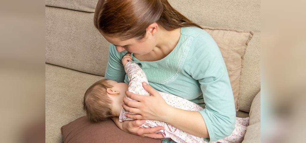 درمان نوک سینه زخم شده ناشی از شیردهی