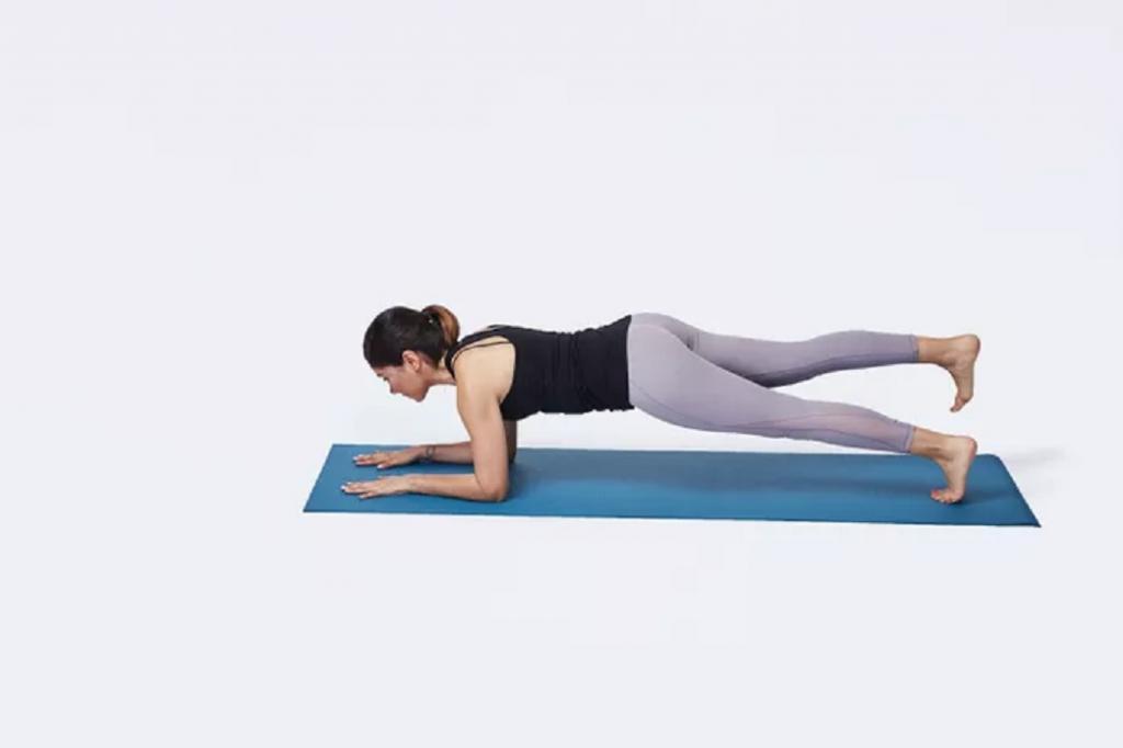 فواید ورزش پلانک