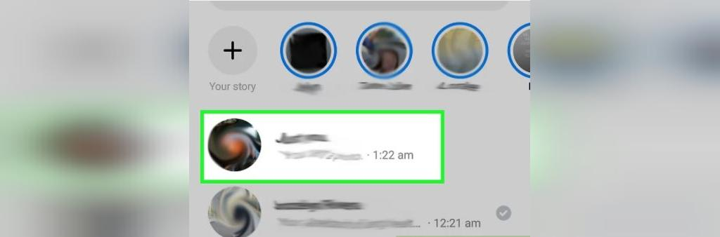 نحوه ارسال لوکیشن از طریق Facebook Messenger