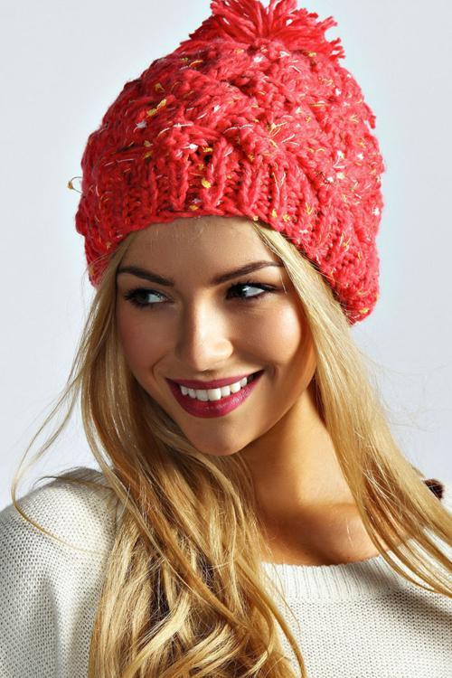 ژورنال کلاه بافتنی زنانه جدید